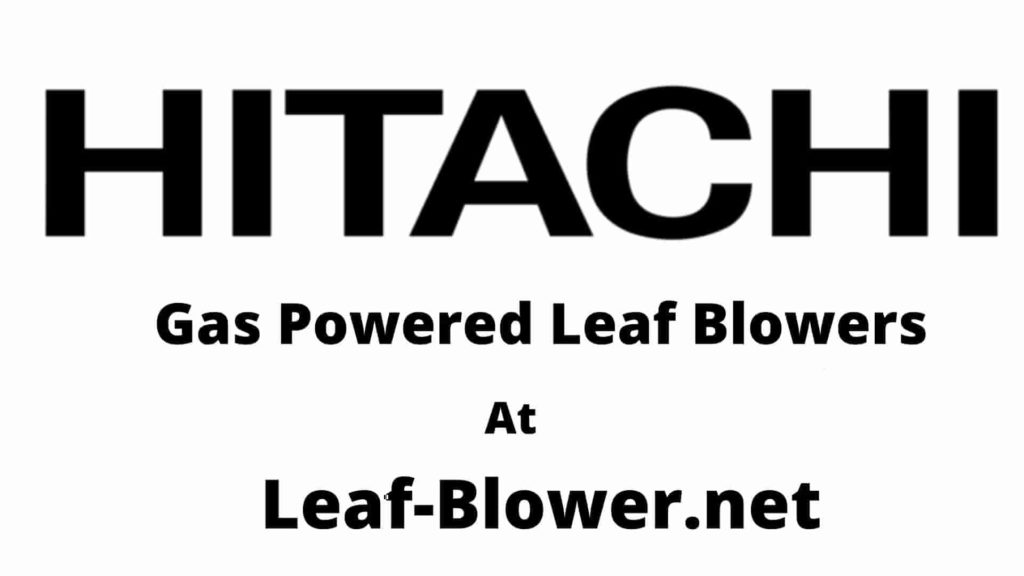 Gas Powered Leaf Blowers